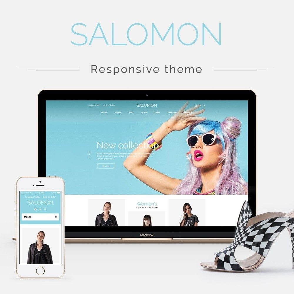 theme - Mode & Schuhe - Salamon Fashion Store - 1
