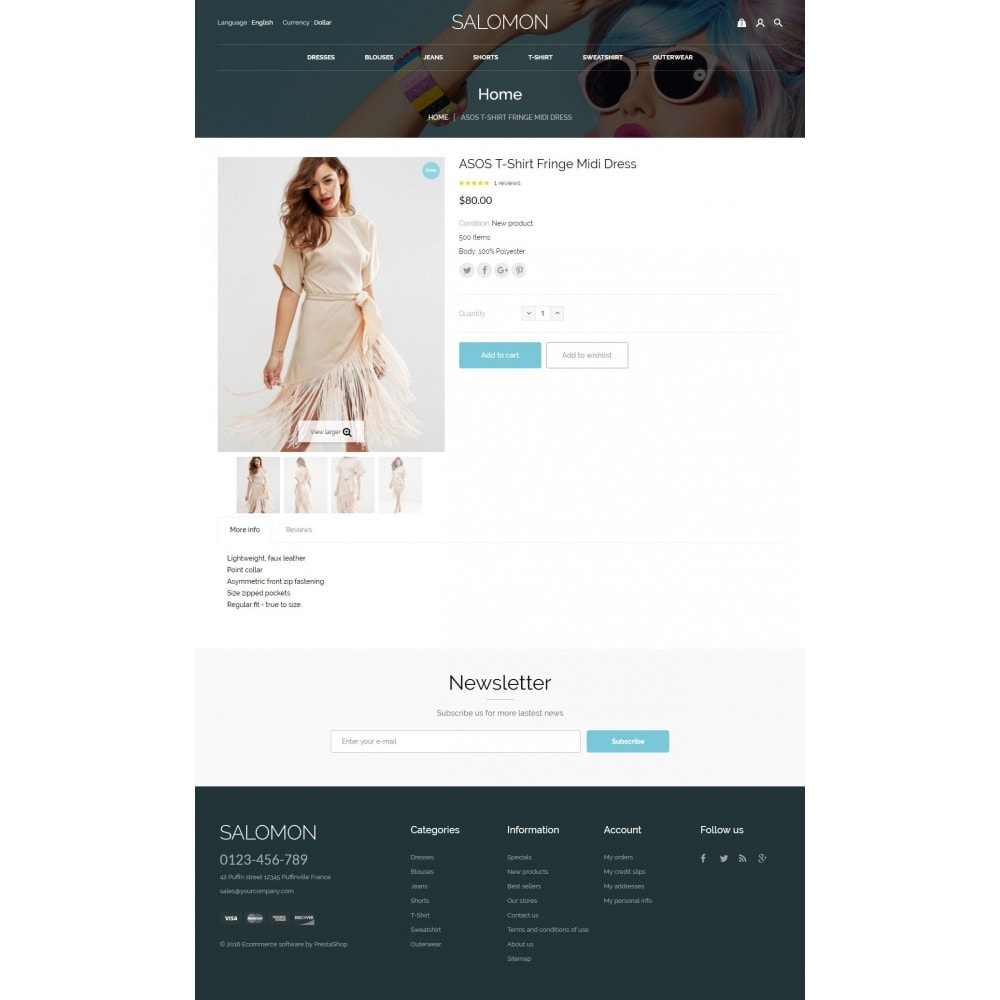 theme - Moda & Calzature - Salamon Fashion Store - 7
