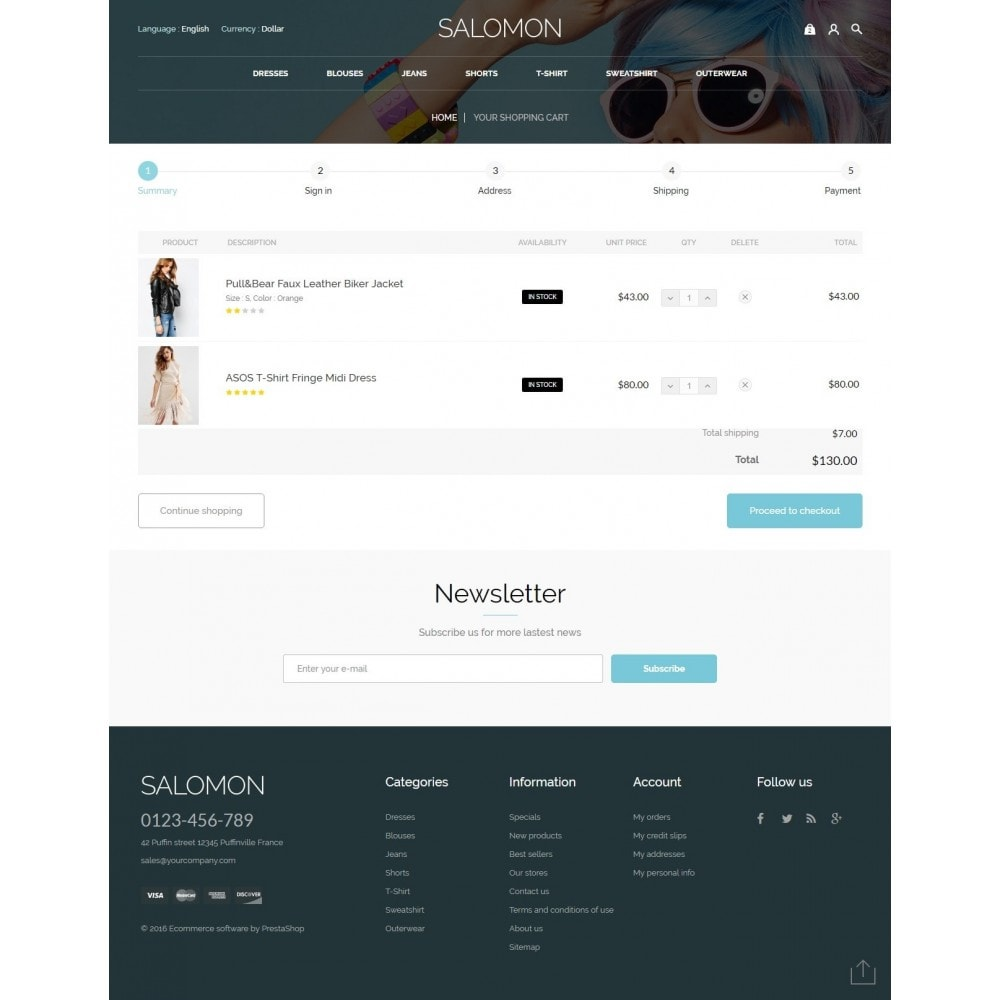 theme - Mode & Schuhe - Salamon Fashion Store - 8