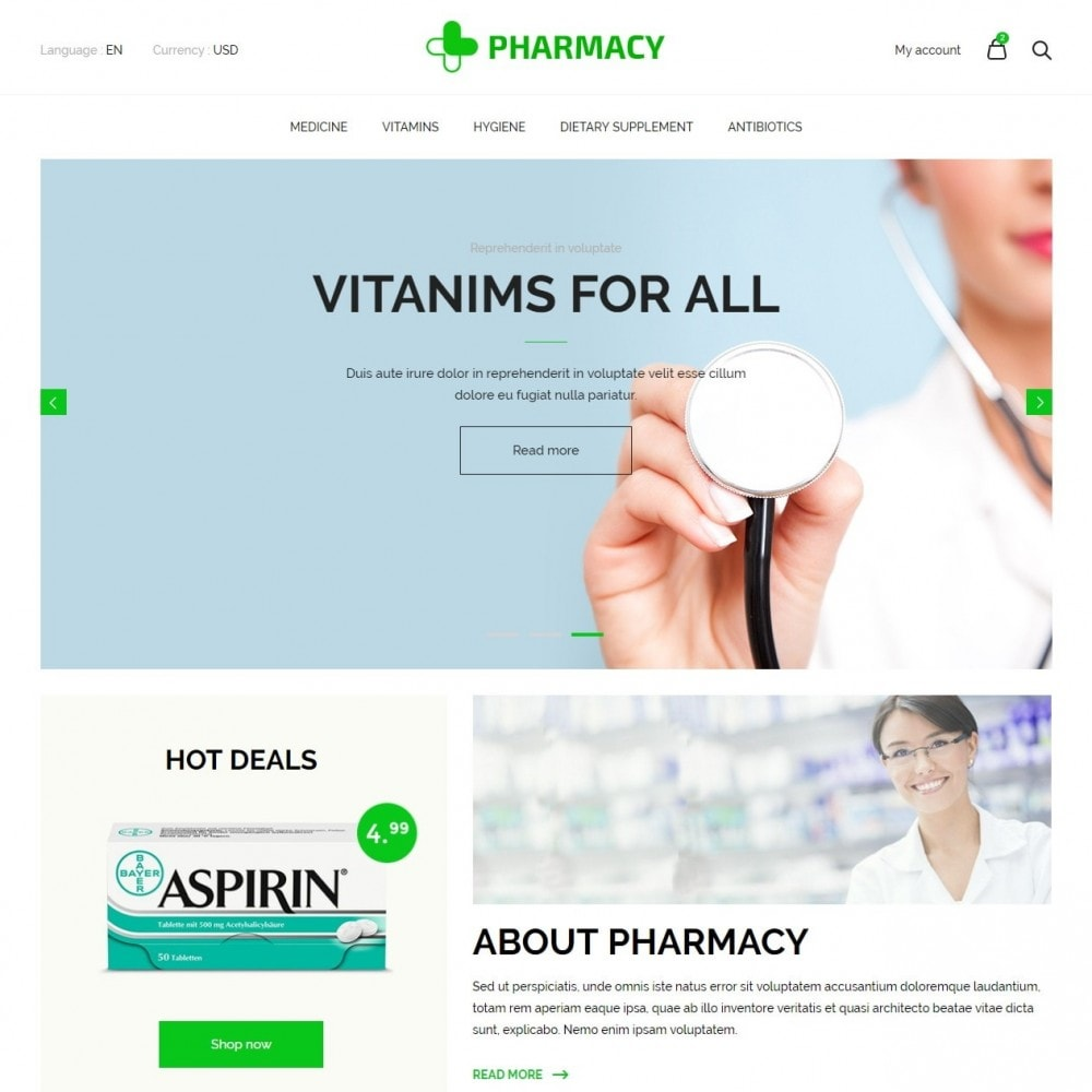 theme - Salute & Bellezza - Pharmacy Store - 2