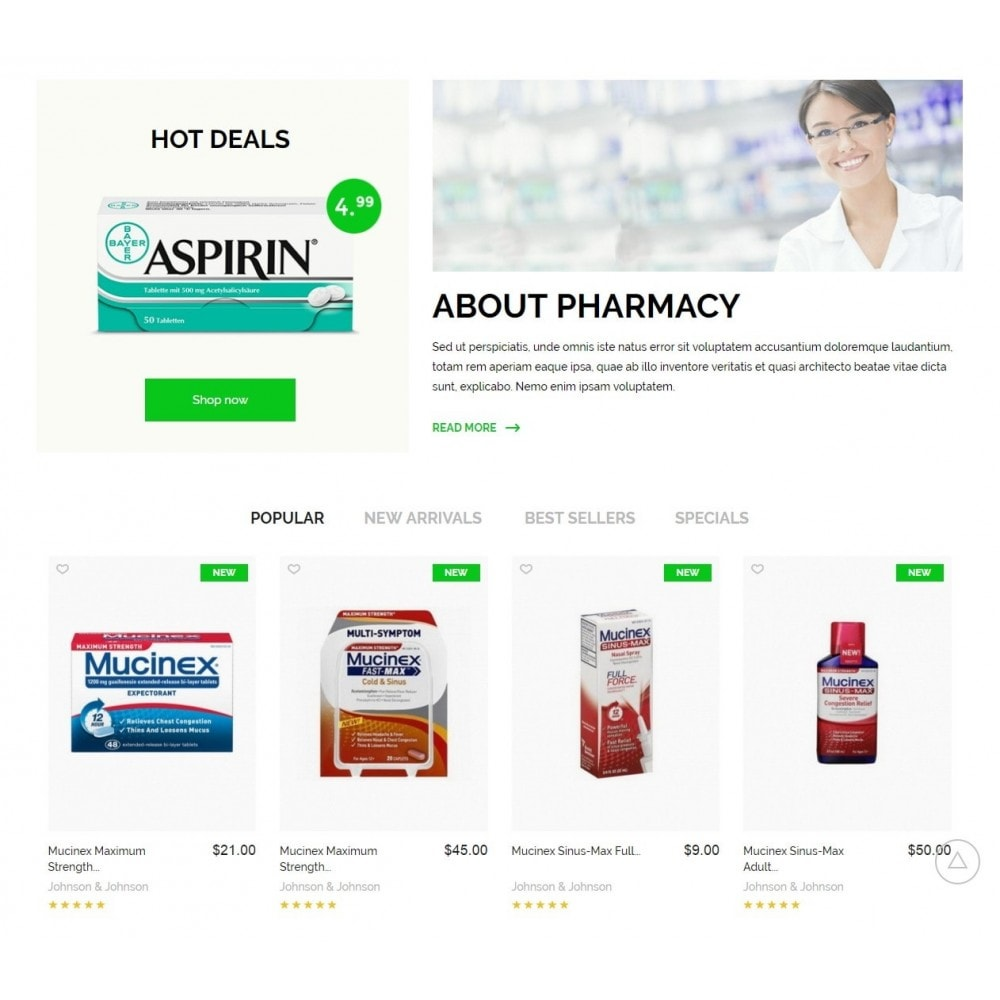 theme - Salute & Bellezza - Pharmacy Store - 3