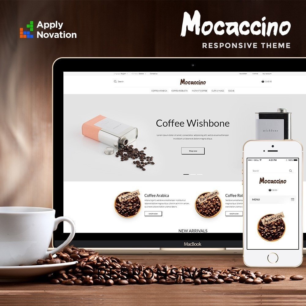 theme - Boissons & Tabac - Moccacino Coffe Store - 1