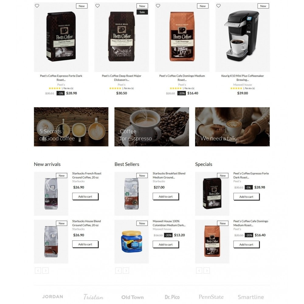 theme - Boissons & Tabac - Moccacino Coffe Store - 3