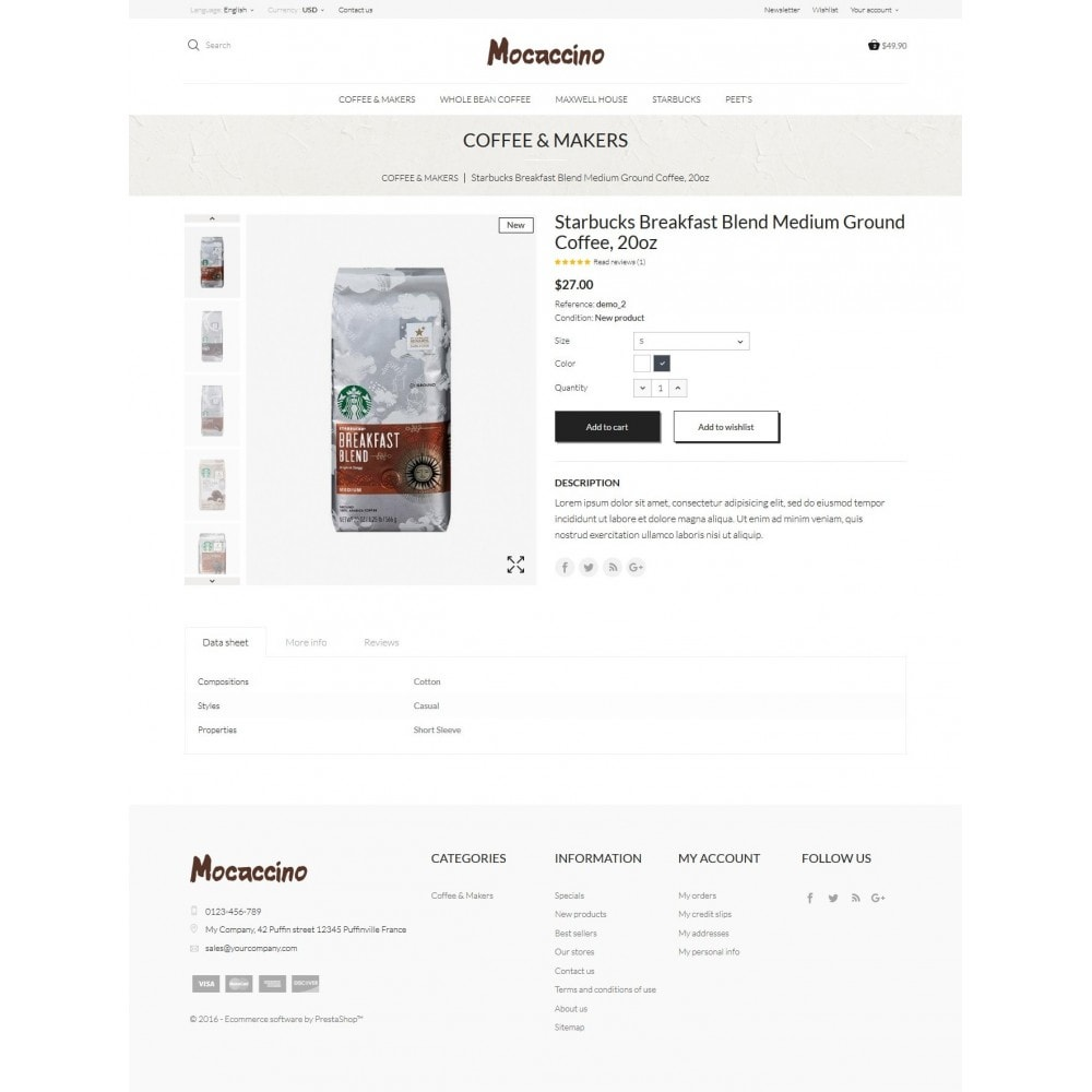 theme - Boissons & Tabac - Moccacino Coffe Store - 8