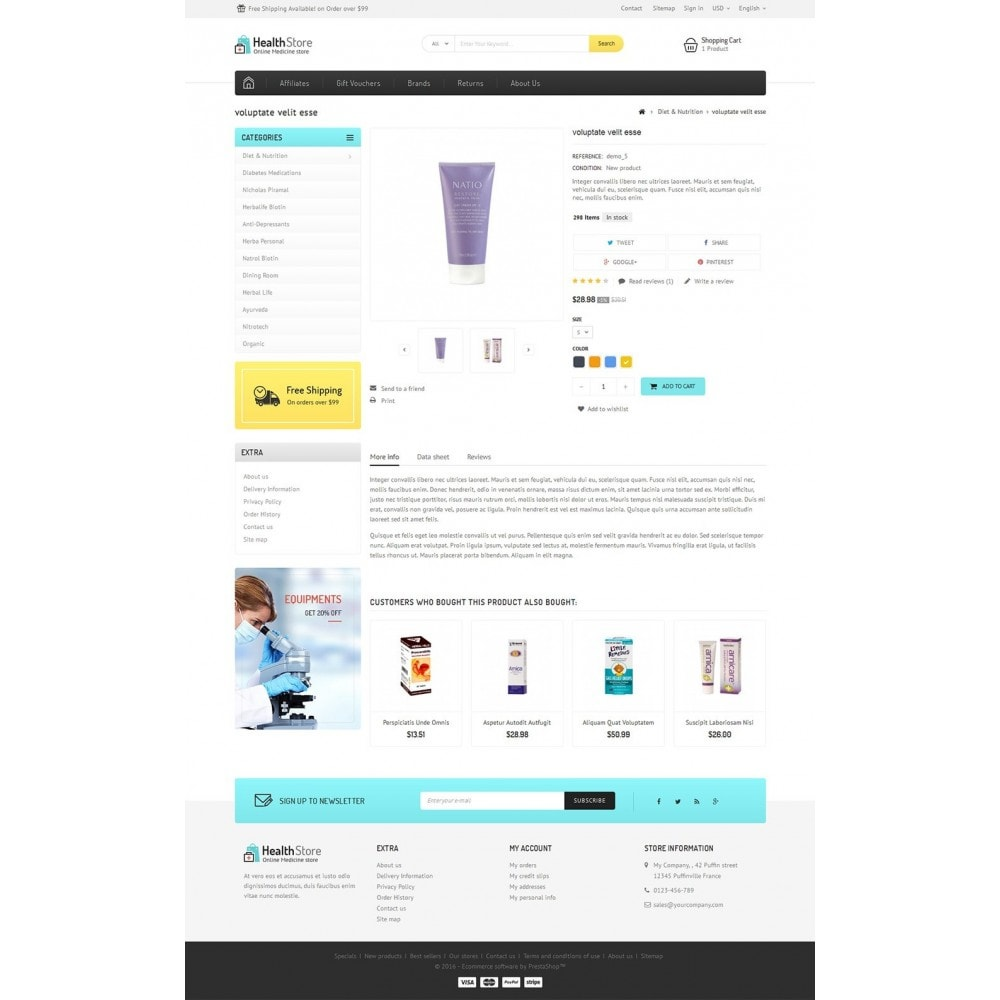 theme - Health & Beauty - Medicine Store - 4