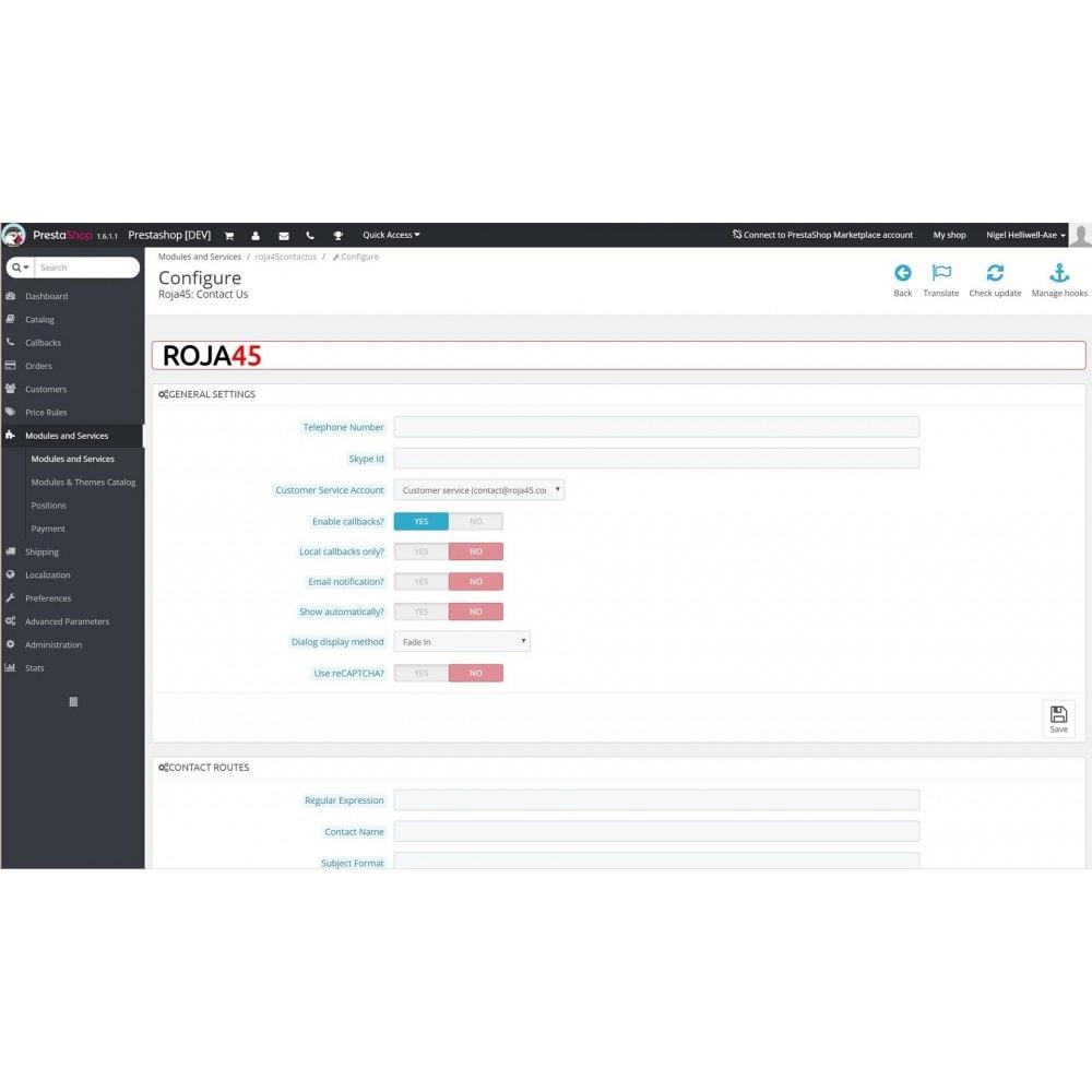 module - Kontaktformular & Umfragen - Roja45: Contact Us - 13