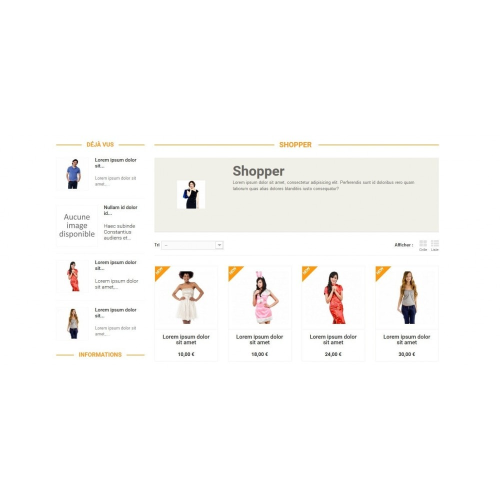 theme - Mode & Chaussures - Shopper - 1