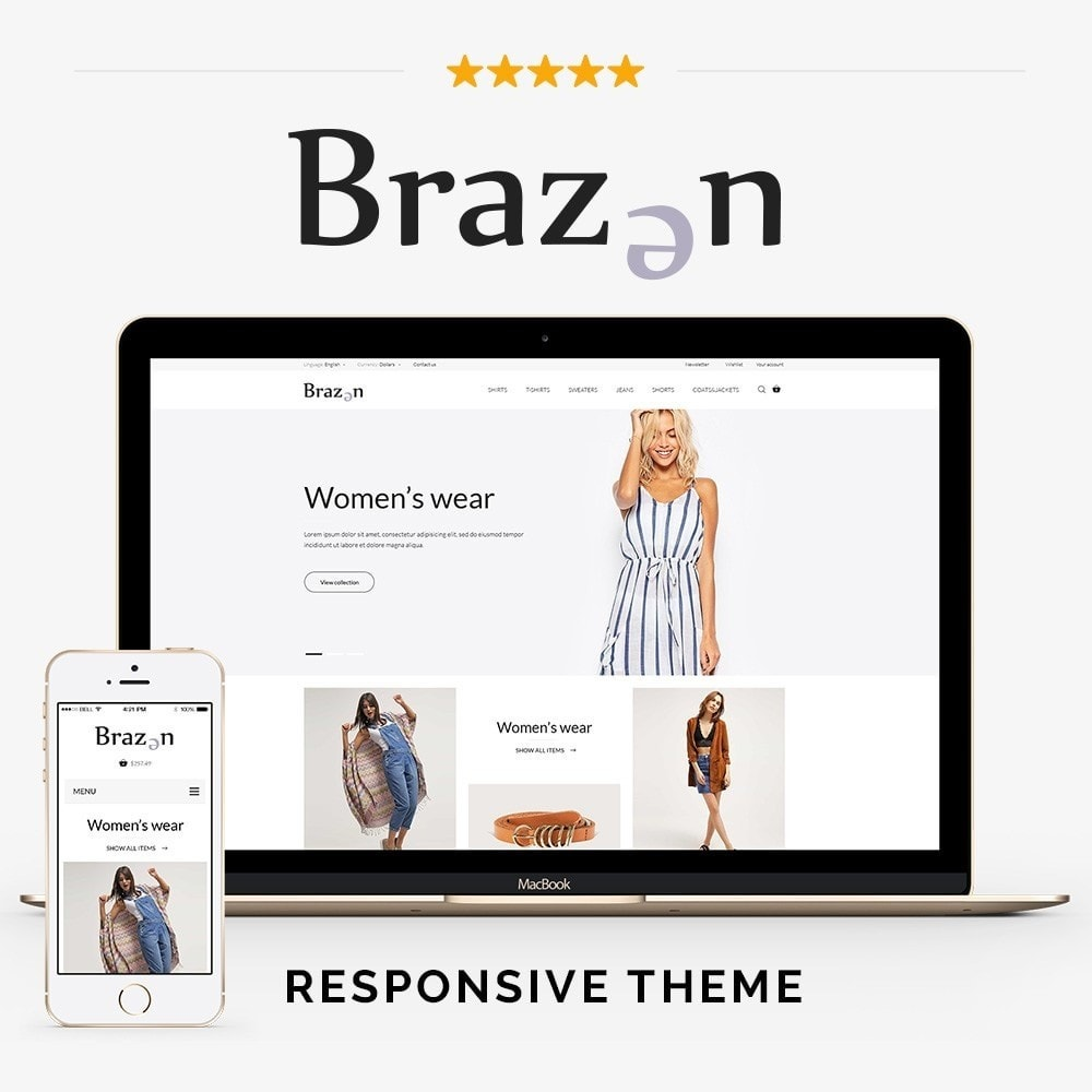 theme - Moda & Obuwie - Brazen Fashion Store - 1