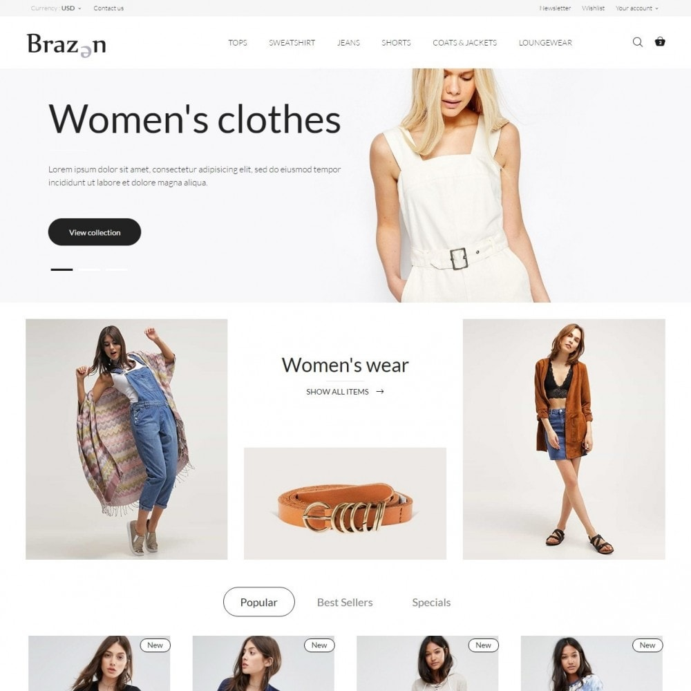 theme - Moda & Obuwie - Brazen Fashion Store - 2