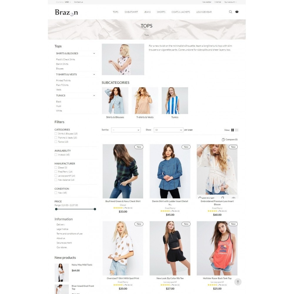 theme - Moda & Obuwie - Brazen Fashion Store - 5