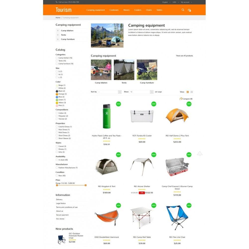theme - Sport, Activiteiten & Reizen - Tourism Store - 5