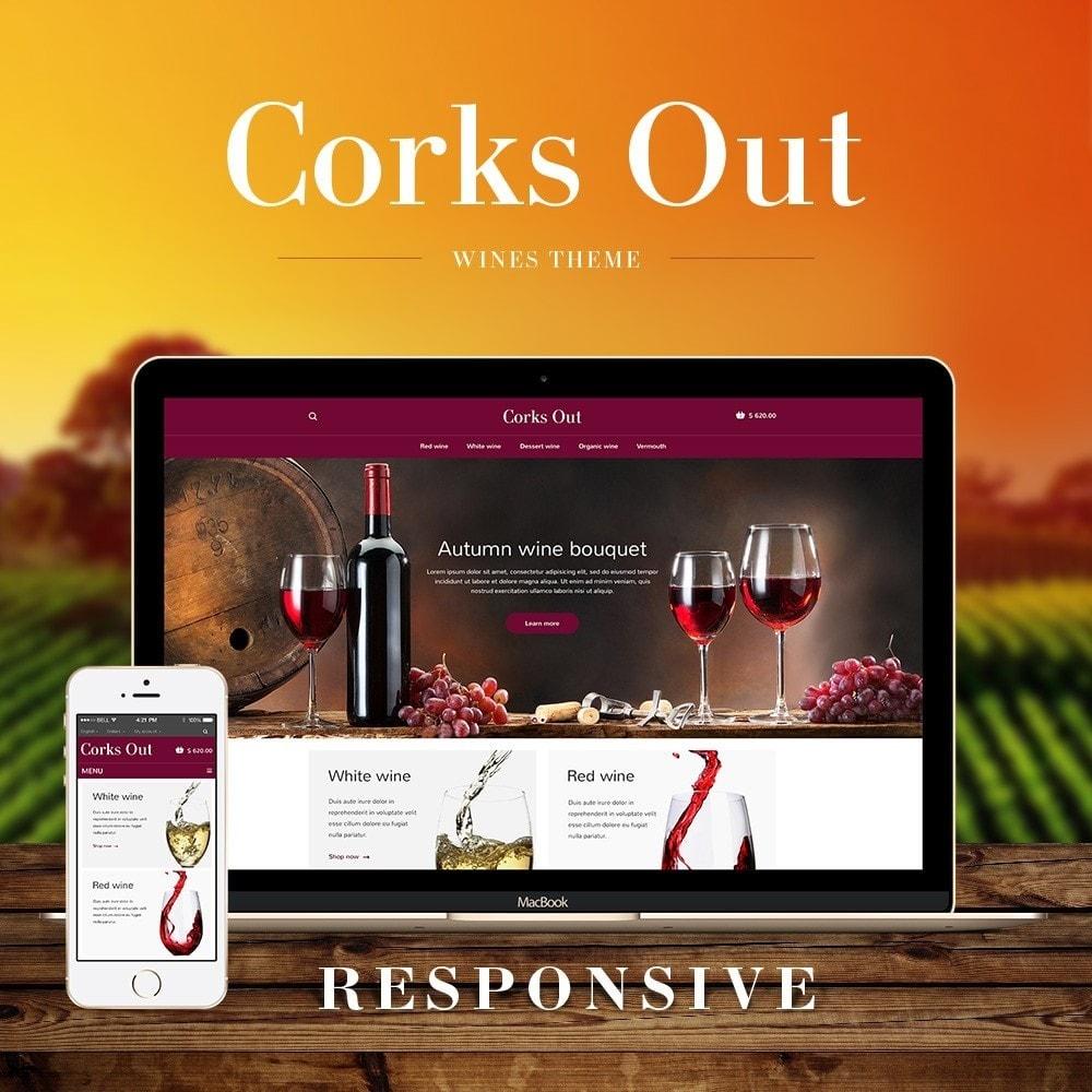 theme - Cibo & Ristorazione - Corks out Alcohol Store - 1