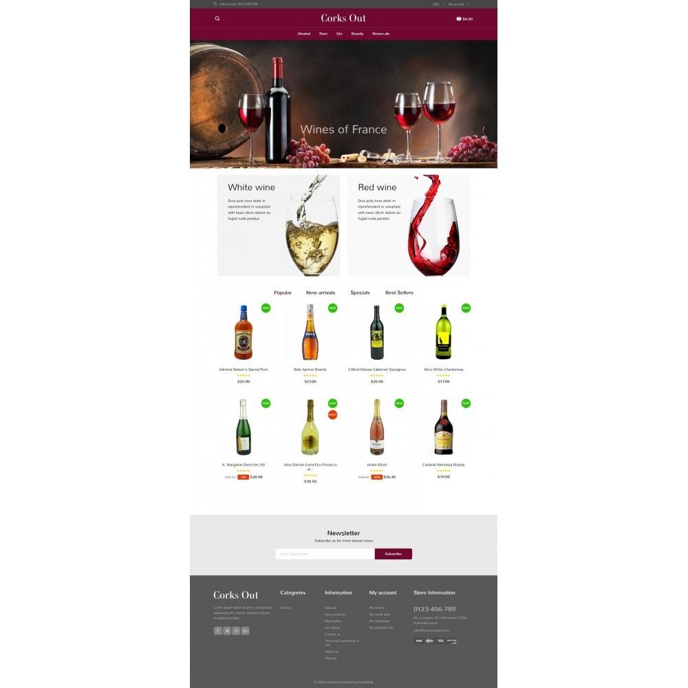 theme - Cibo & Ristorazione - Corks out Alcohol Store - 4