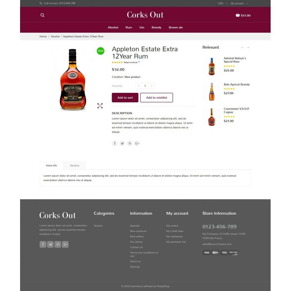theme - Cibo & Ristorazione - Corks out Alcohol Store - 7