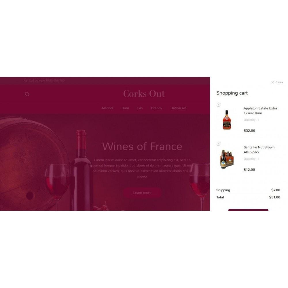 theme - Cibo & Ristorazione - Corks out Alcohol Store - 8