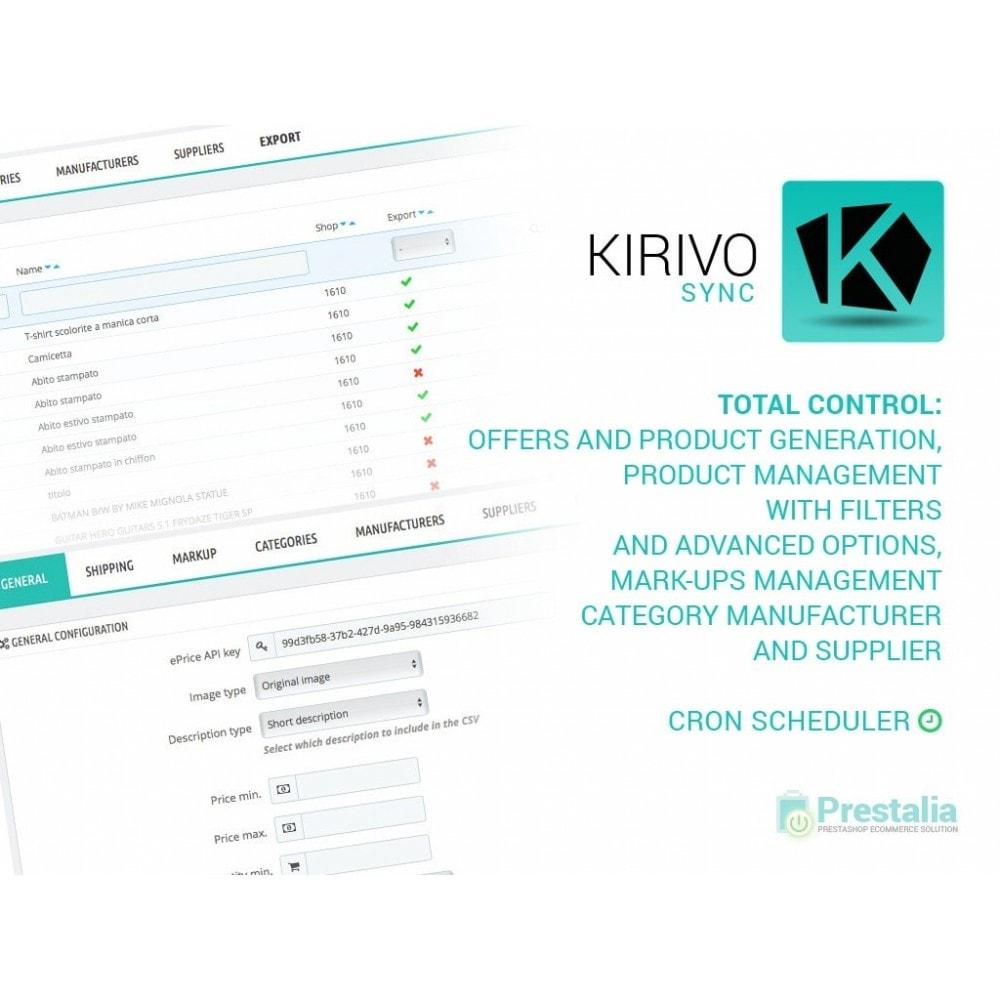 module - Marketplaces - Sync your PrestaShop store with Kirivo marketplace - 1