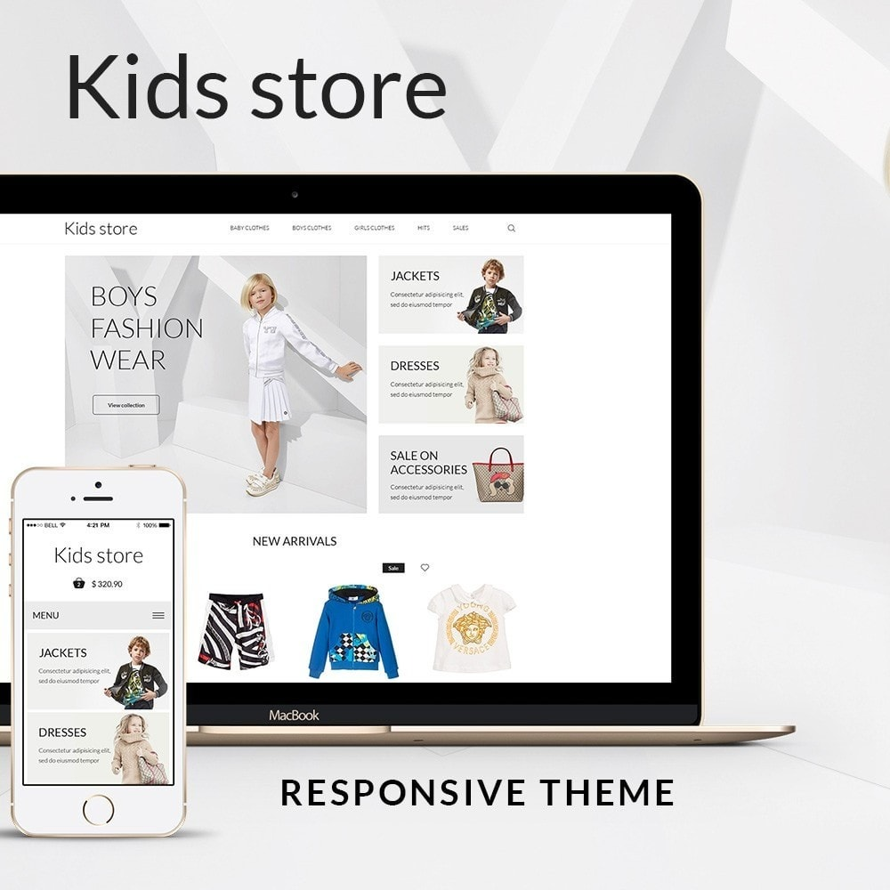 theme - Mode & Chaussures - Kids store - 1