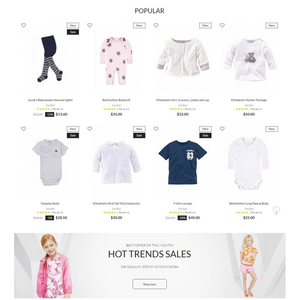theme - Mode & Schoenen - Kids store - 3