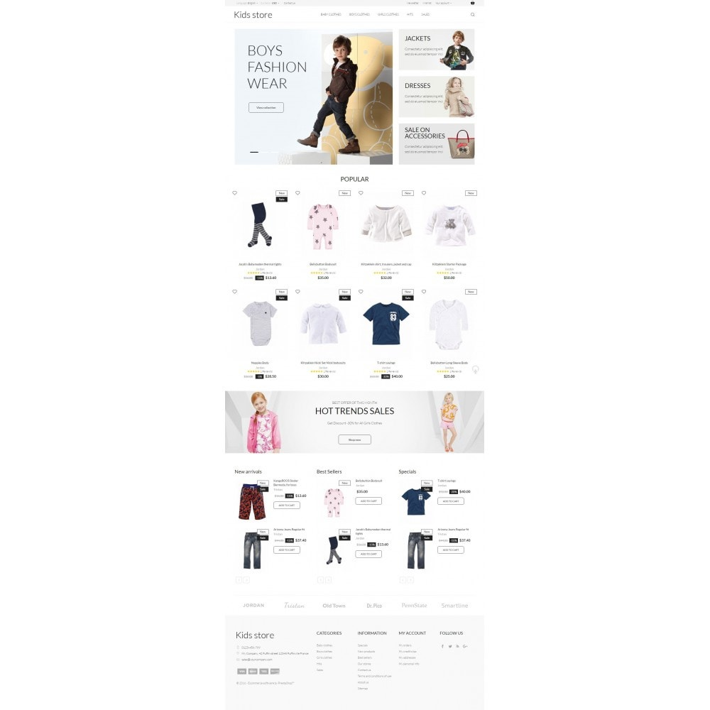 theme - Mode & Chaussures - Kids store - 4