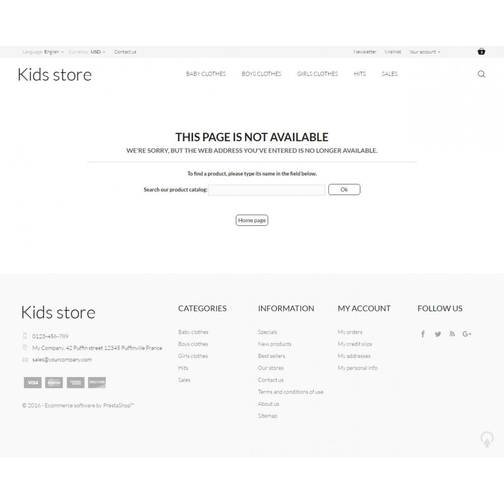 theme - Mode & Chaussures - Kids store - 9