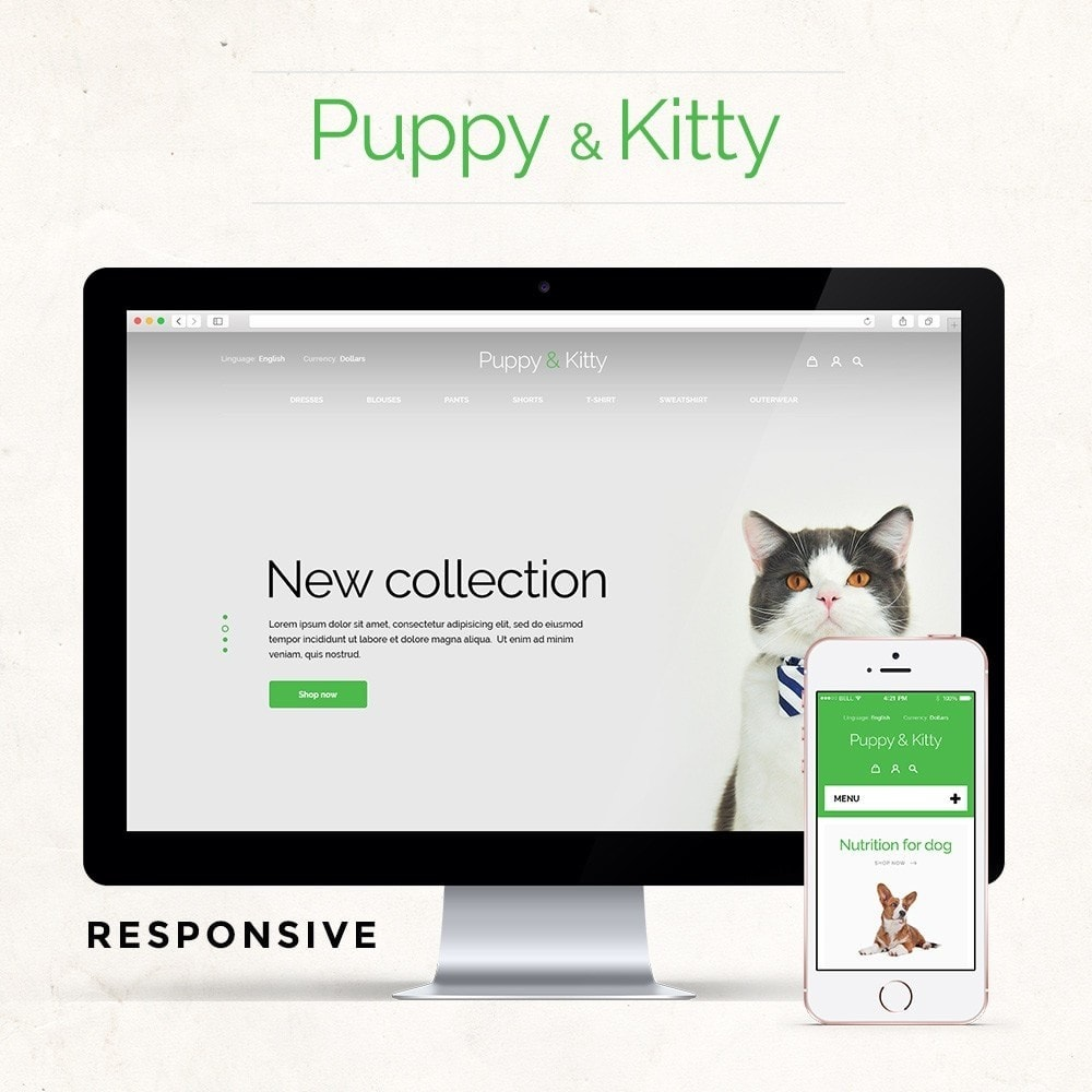 theme - Dieren - Puppy&Kitty Pet Shop - 1