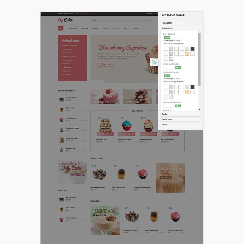 theme - Food & Restaurant - Ap Cake - 2