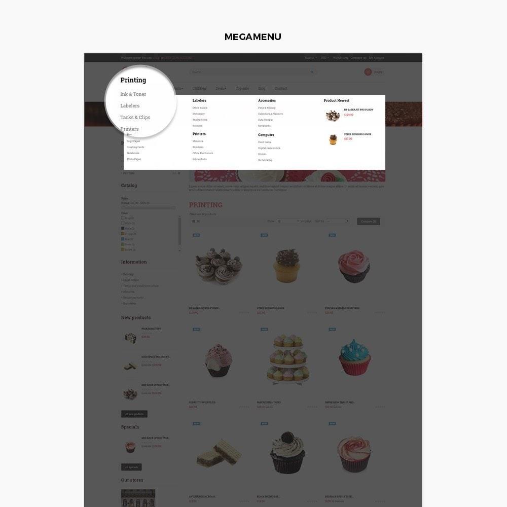 theme - Alimentation & Restauration - Ap Cake - 3