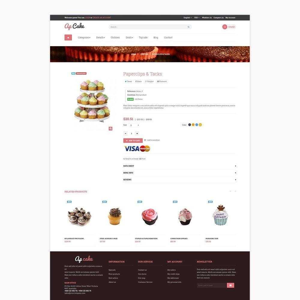 theme - Food & Restaurant - Ap Cake - 5