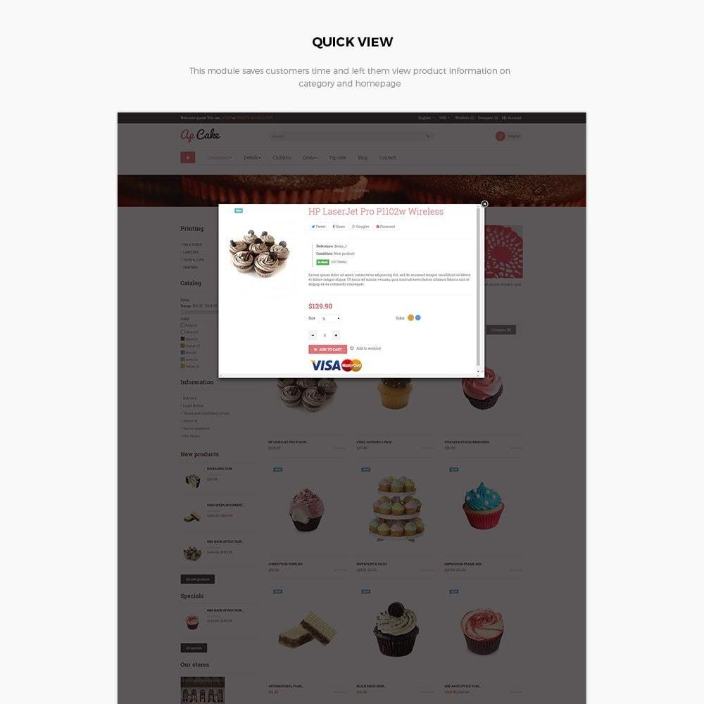 theme - Food & Restaurant - Ap Cake - 6
