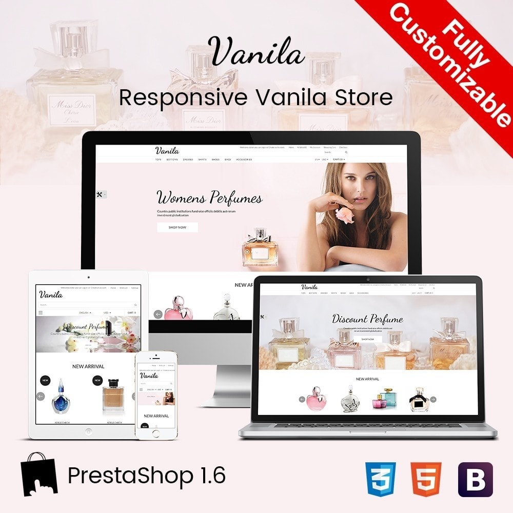 theme - Здоровье и красота - Vanila | Beauty Cosmetic Store - 1
