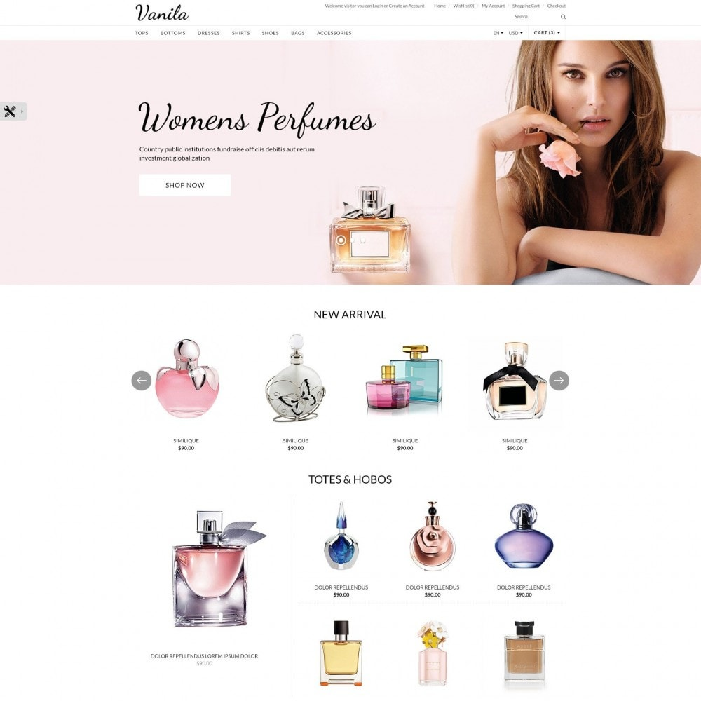 theme - Здоровье и красота - Vanila | Beauty Cosmetic Store - 2