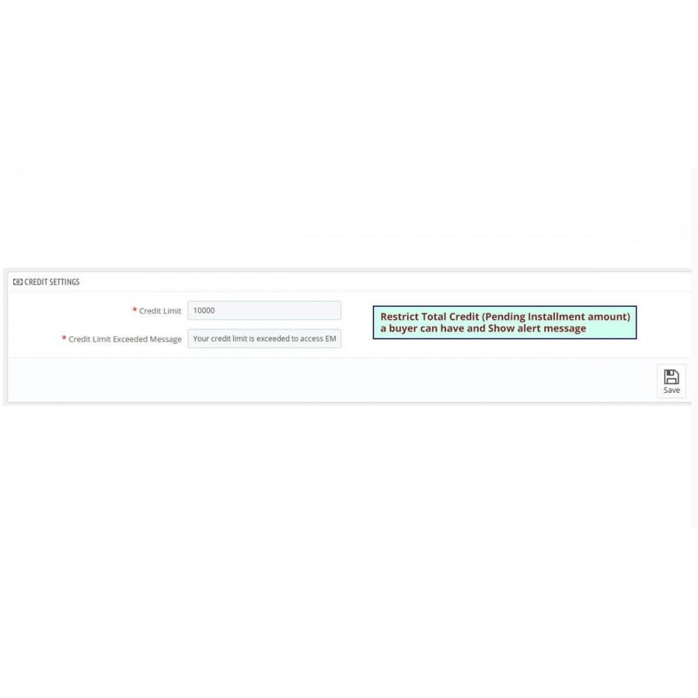 module - Altri Metodi di Pagamento - Partial Payment - Layaway & Installment Payment - 3