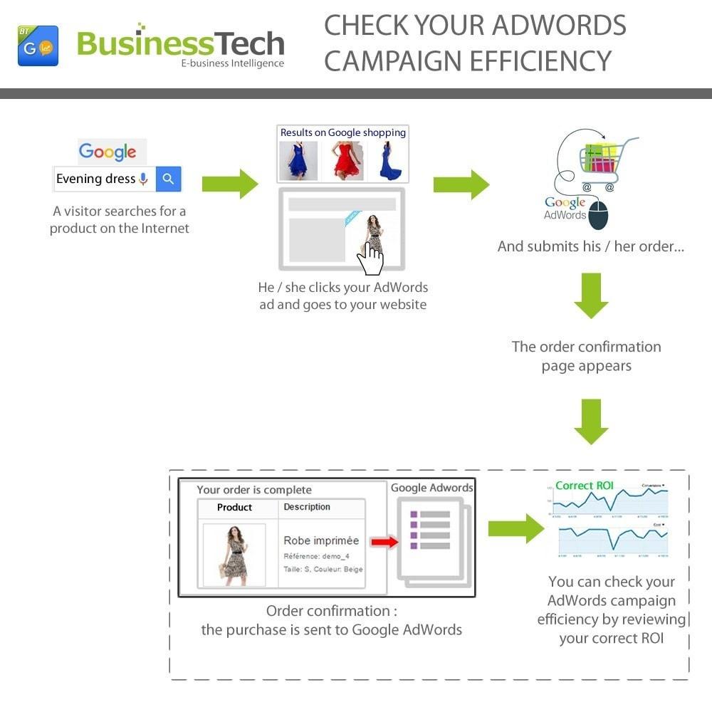 module - Analytics & Statistics - Google Ads (Google AdWords) Conversion Tracking Pro - 3