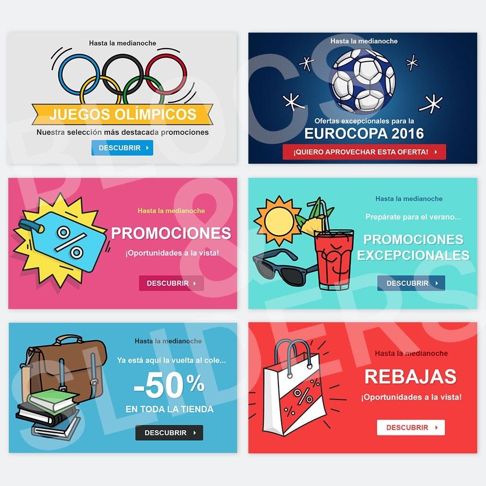 other - Material Visual para promociones online - 12 Imágenes promocionales - Verano - 1