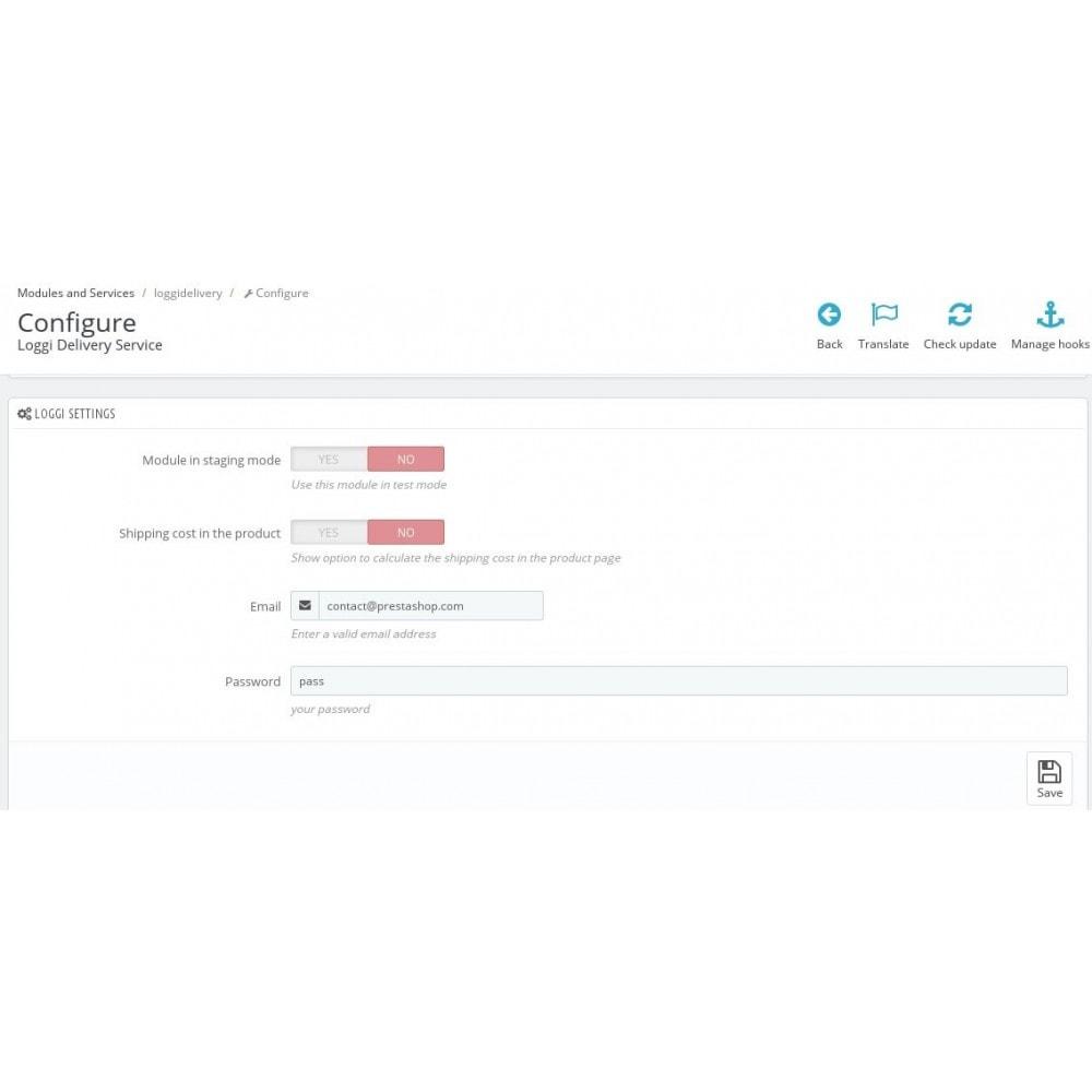module - Corrieri - Loggi Delivery Service - 4