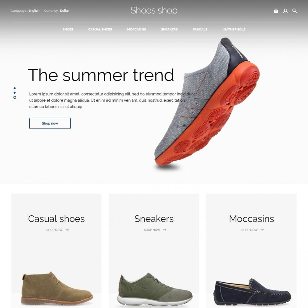 theme - Moda y Calzado - Shoes shop - 3