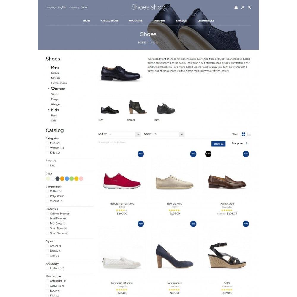 theme - Мода и обувь - Shoes shop - 6