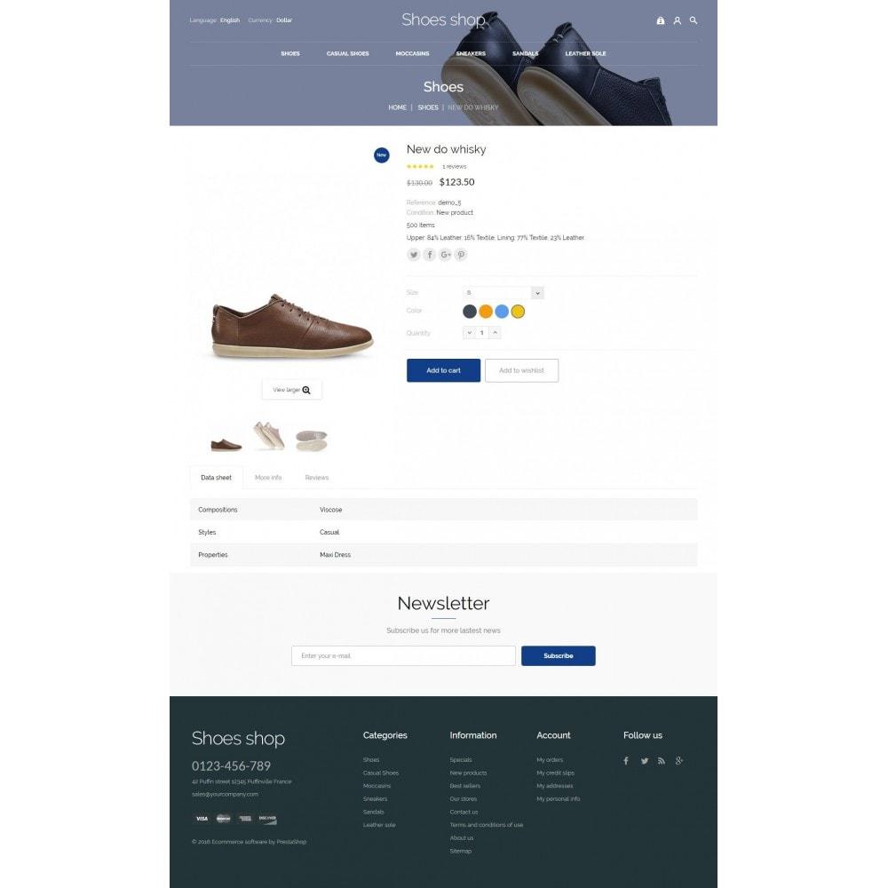 theme - Мода и обувь - Shoes shop - 8