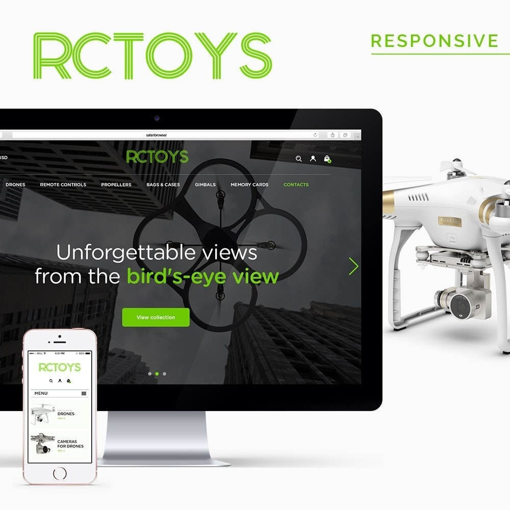 theme - Elettronica & High Tech - RCToys Quadcopters Store - 1