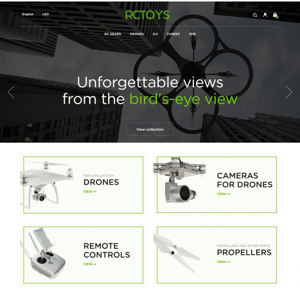 theme - Elektronika & High Tech - RCToys Quadcopters Store - 2