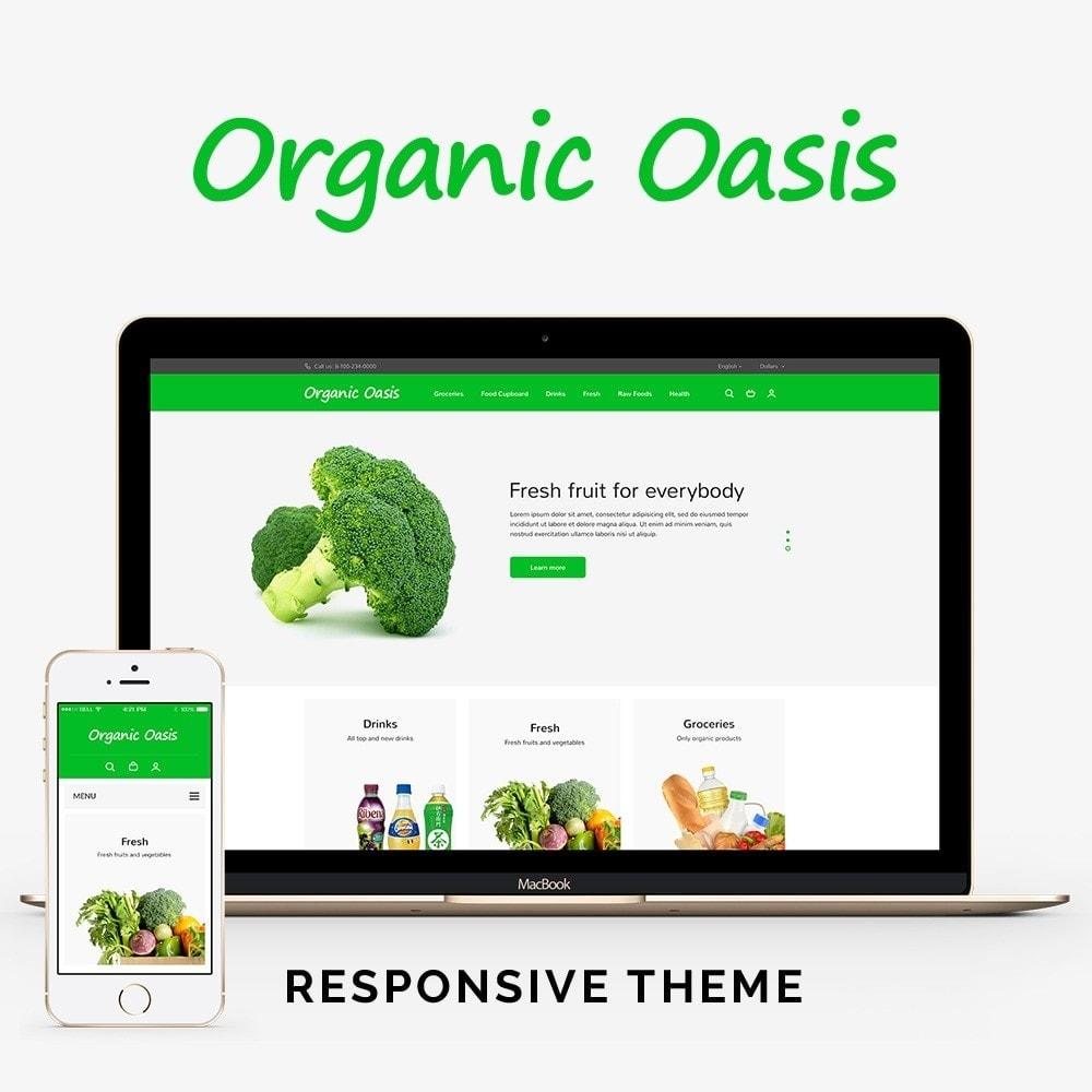 theme - Gastronomía y Restauración - Organic Oasis Store - 1