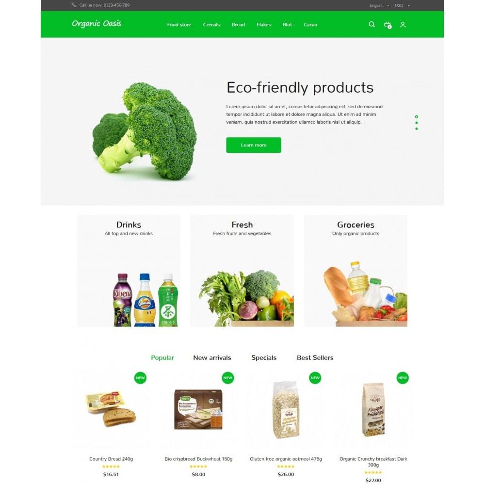 theme - Gastronomía y Restauración - Organic Oasis Store - 2