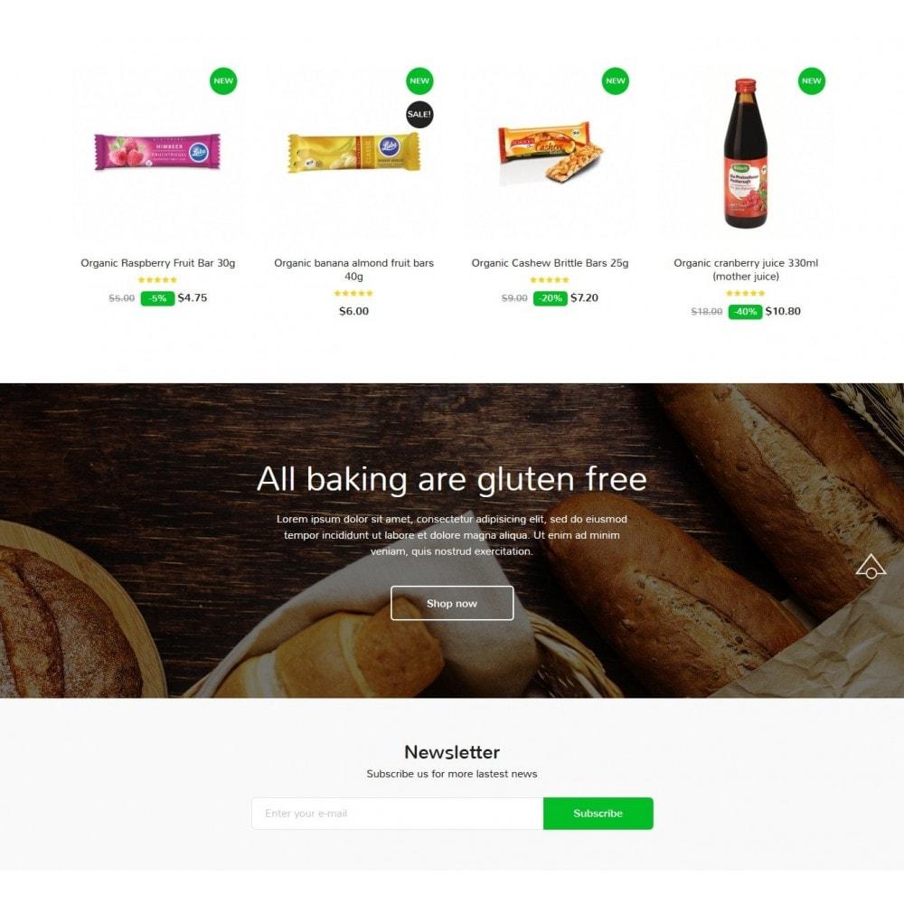 theme - Gastronomía y Restauración - Organic Oasis Store - 3