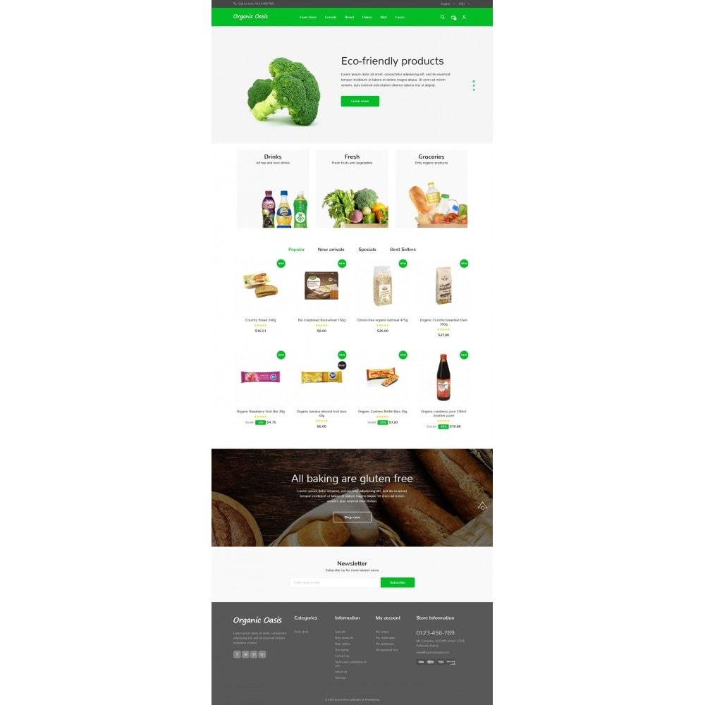 theme - Gastronomía y Restauración - Organic Oasis Store - 7