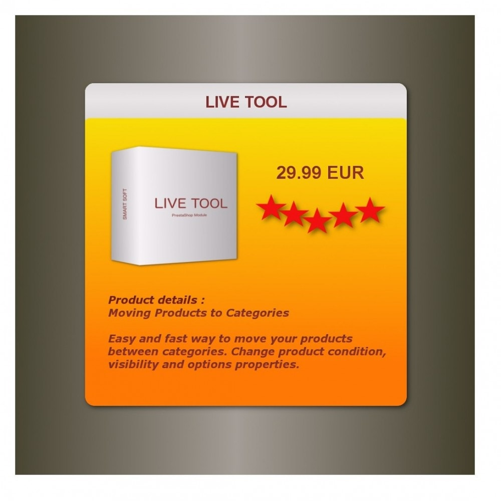 module - Modifica rapida & di massa - Live Tool - Moving Products to Categories - 1