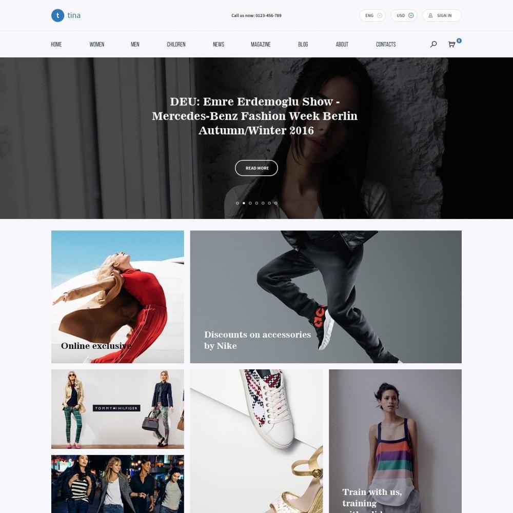 theme - Mode & Chaussures - Milano - Boutique de Vêtements - 2