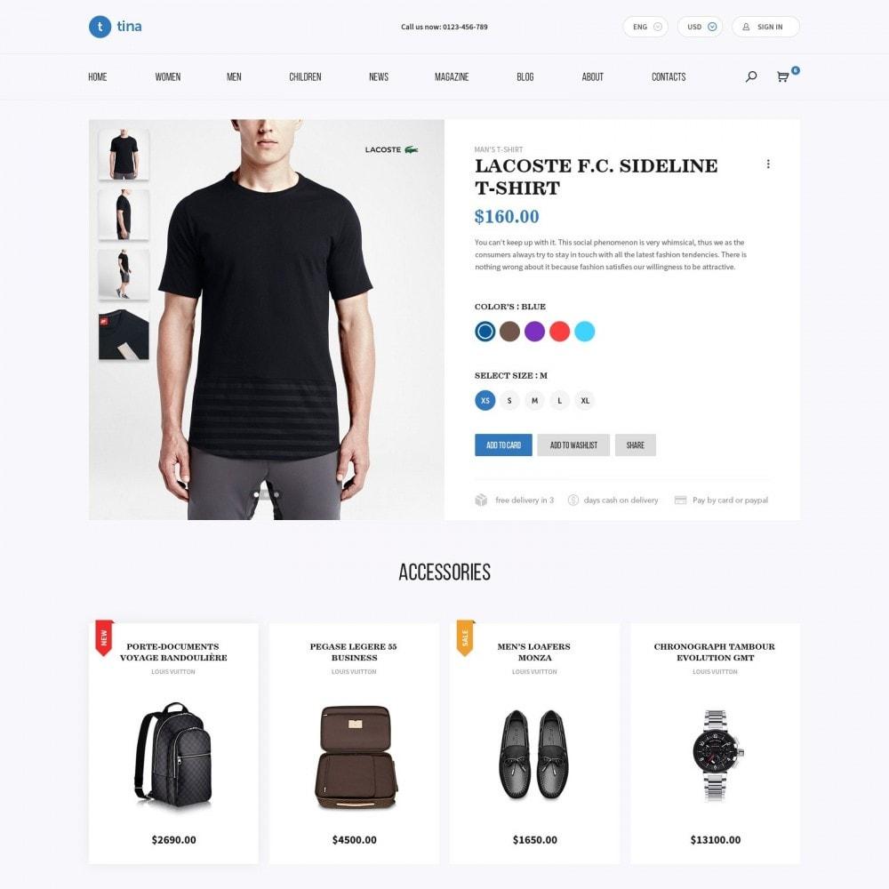 theme - Mode & Chaussures - Milano - Boutique de Vêtements - 4