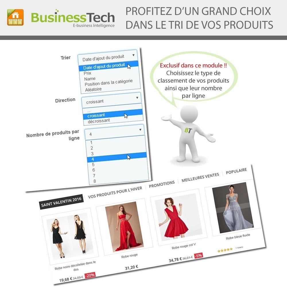 module - Produits en page d'accueil - Advanced Featured Products: Produits phares sur accueil - 6