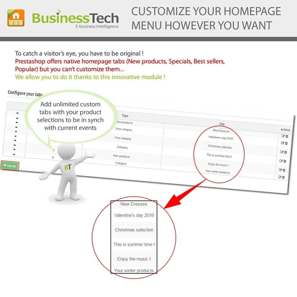 module - Products on Homepage - Advanced Featured Products - 4