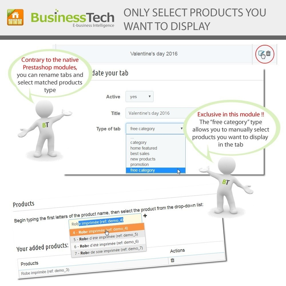 module - Products on Homepage - Advanced Featured Products - 5